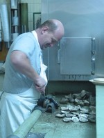 Shucking Oysters at Casamento's