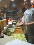 Making Po'boys at Domilise's