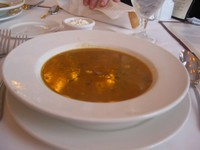 Bourbon House's Alligator Soup